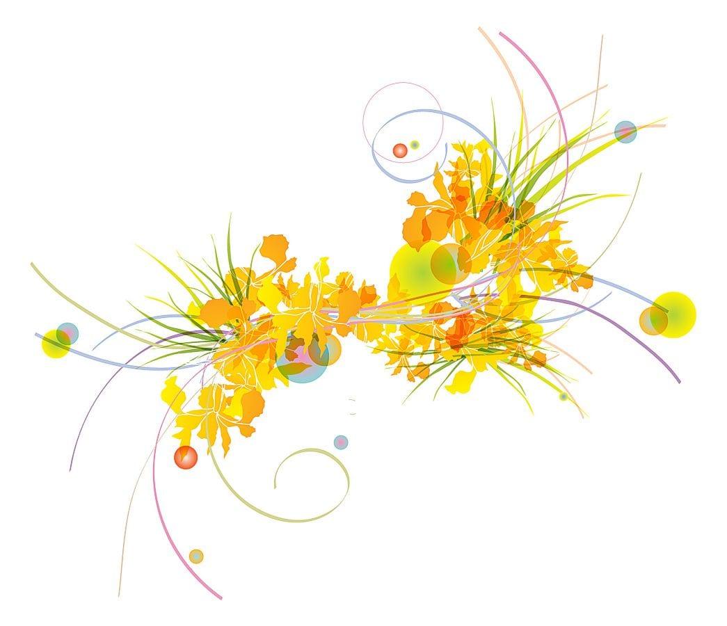 O desenho floral nas cores da estação é parte da programação visual concebida pela companhia de propaganda da Dona Santa | Santo Homem para a coleção de verão