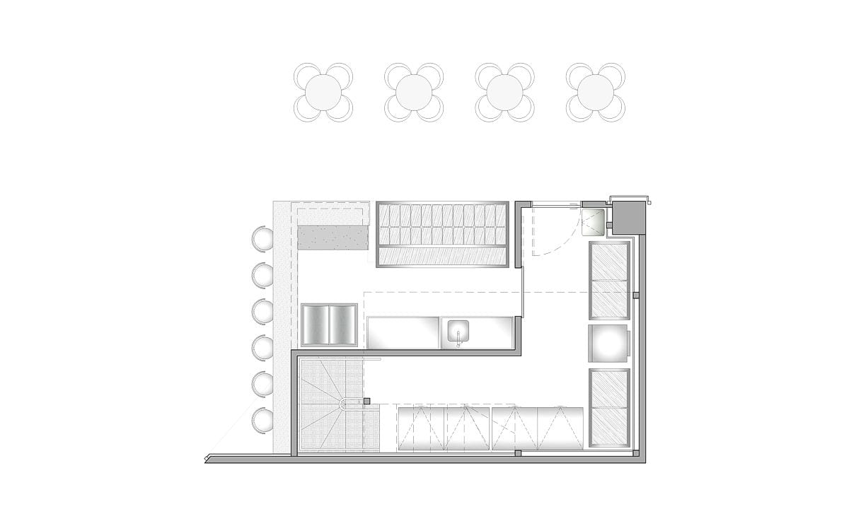 a planta baixa  —  Fri-Sabor João Pessoa  —  a área é de 42.00 m2