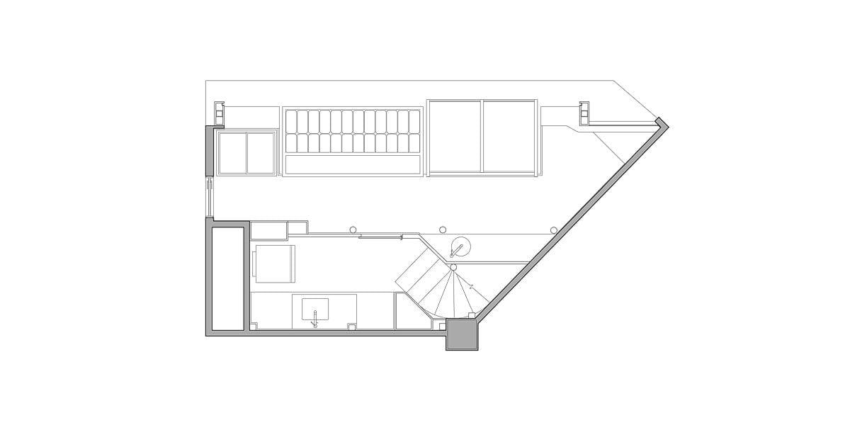 a planta baixa  —  Fri-Sabor Shopping Recife  —  a área é de 24.00 m2