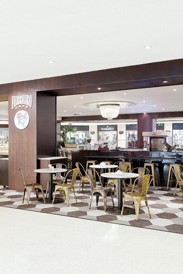 em breve na galeria de arquitetura comercial | Galo Padeiro · Ferreiro Café