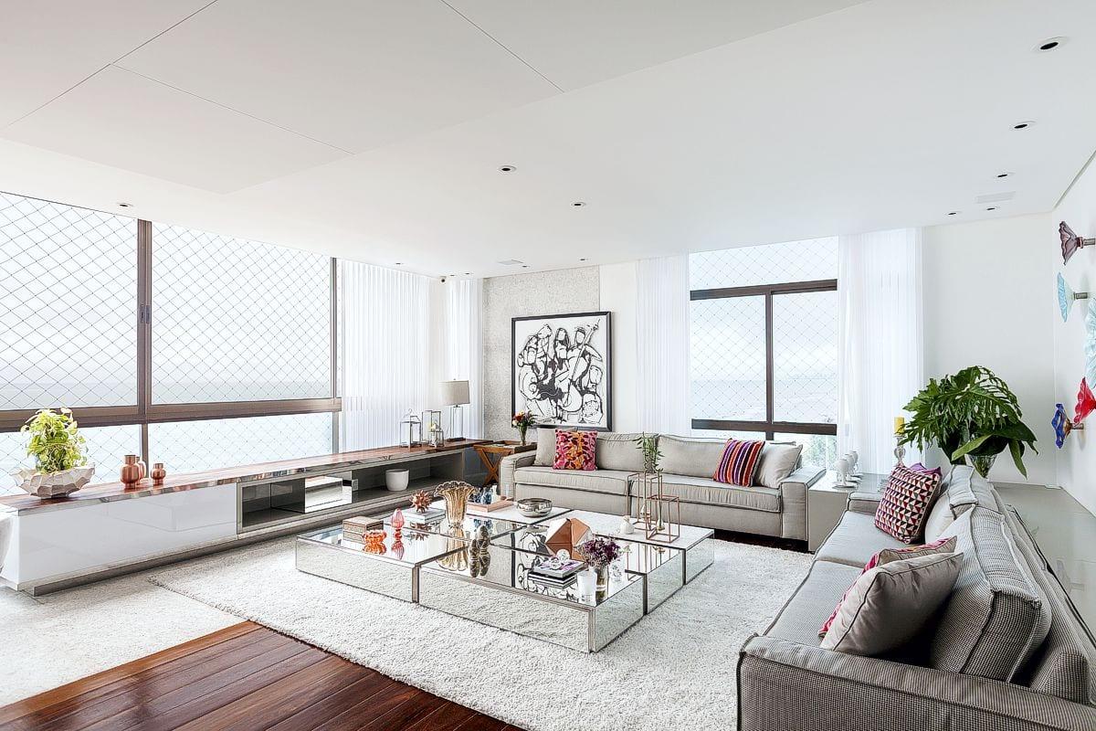 a atmosfera antenada e casual faz a arquitetura para um amplo apartamento | em breve na galeria de arquitetura residencial