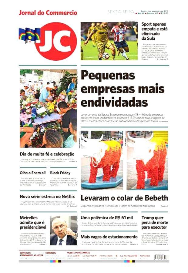 03 de novembro | Jornal do Commercio