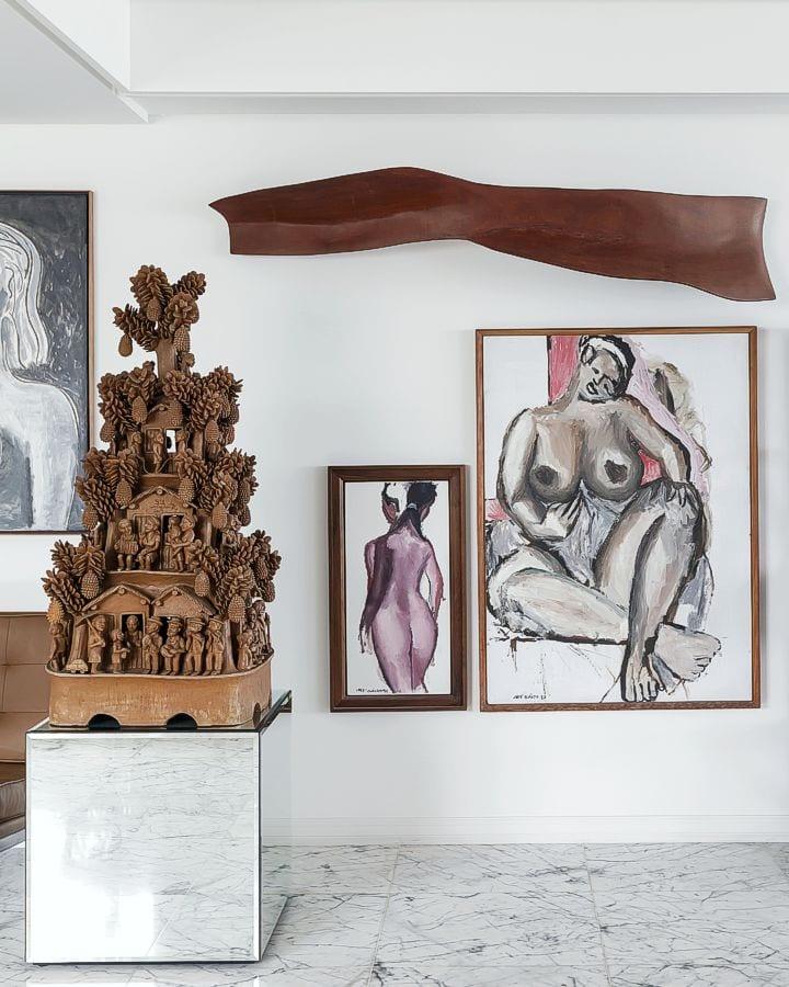 escultura em barro  |  Sil de Alagoas